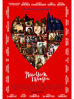 Le poster de New York, I love You