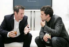 Mark Stott et Orlando Bloom